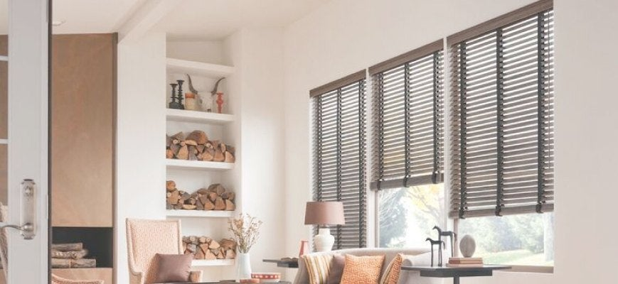 2 Inches Norman Faux Wood SmartPrivacy Blinds