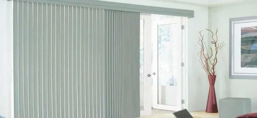 Vertical Blinds for Sliding Glass Door