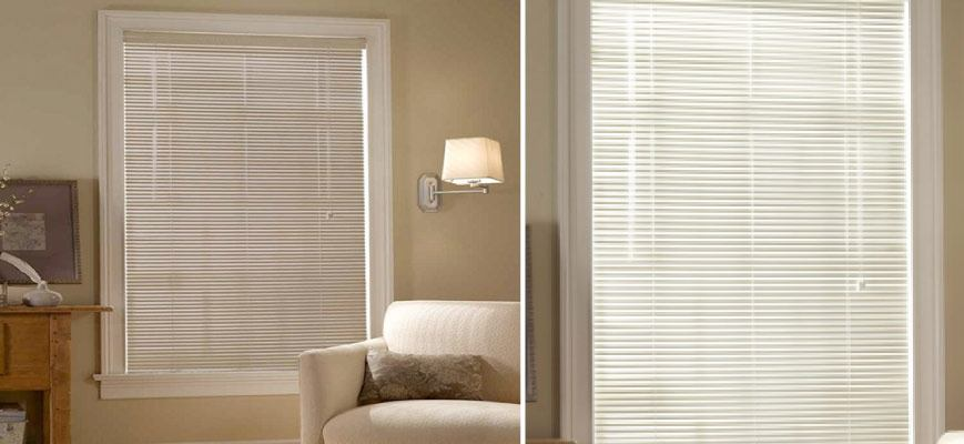 1 Inch Aluminum Privacy Blinds by Crown