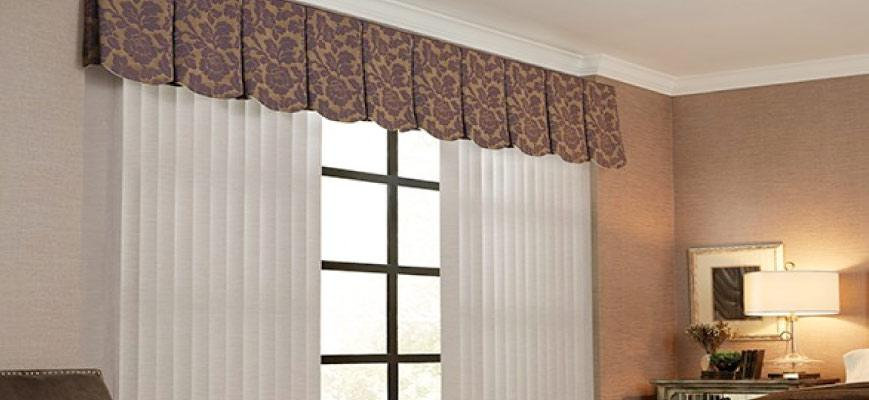3½ Inches Fabric Vertical Blinds Graber