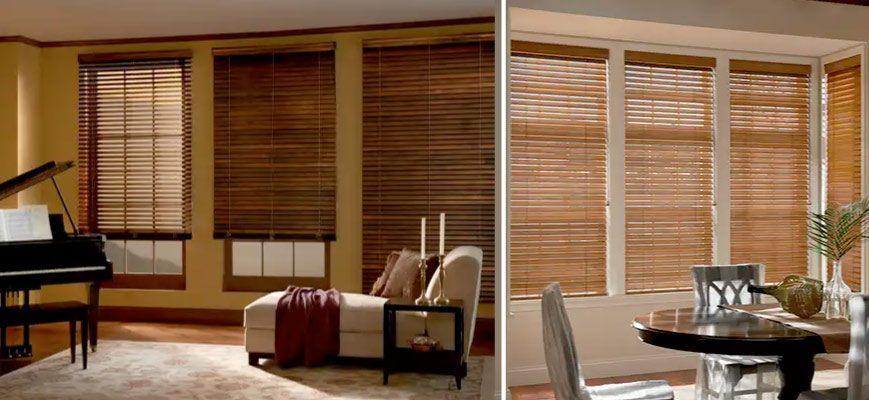 Graber Elite Wood Blinds