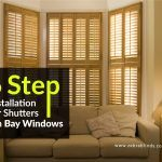 6 Step Installation For Shutters On Bay Windows