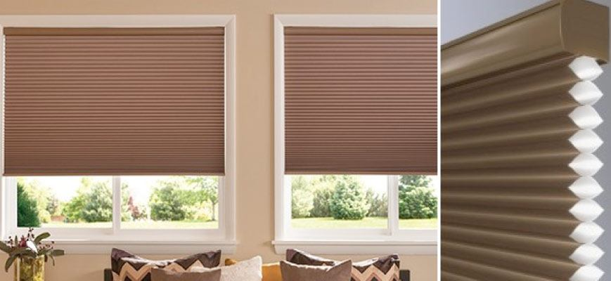Z wave Cellular Honeycomb Shades