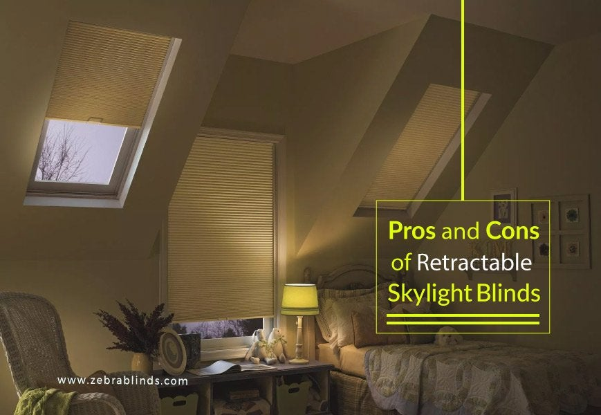 Retractable Skylight Blinds