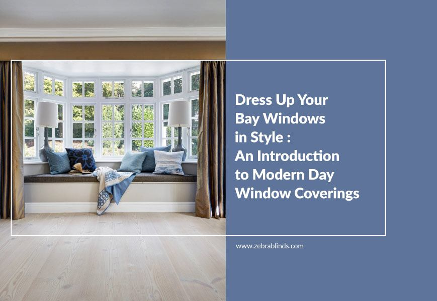 Bay Window Shades And Curtains