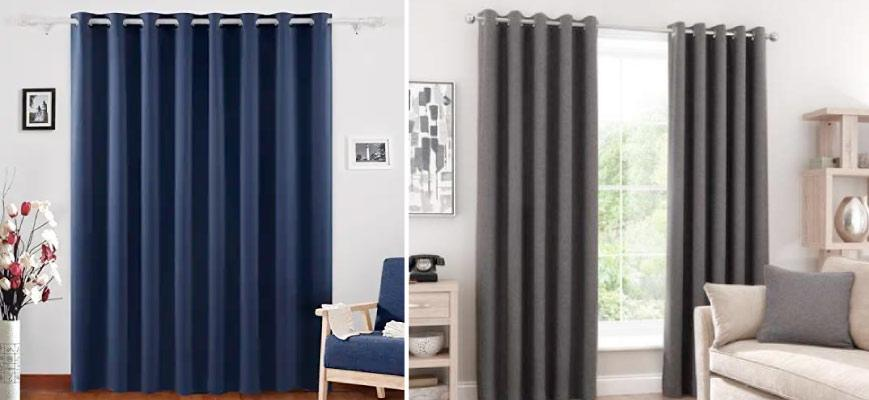 Blackout and Room Darkening Curtains