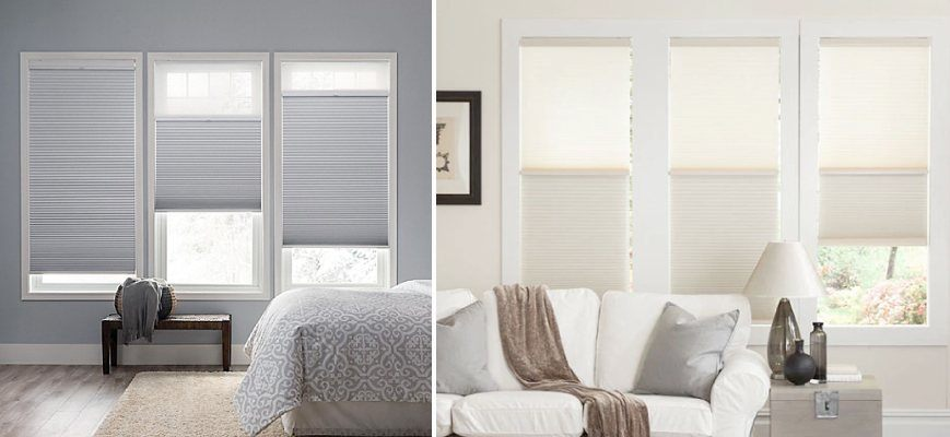 Day and Night Cordless Cellular Shades