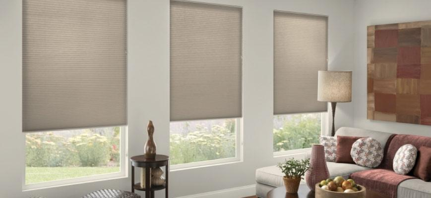 Noise Reduction Cellular Shades