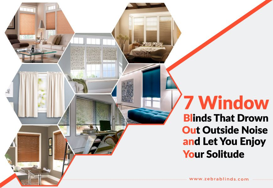 Noise Reduction Window Shades
