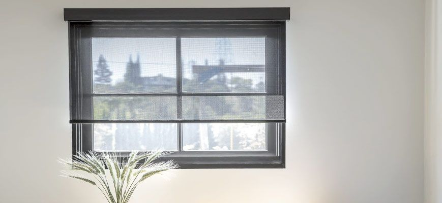 Roller Solar Shades for Basements