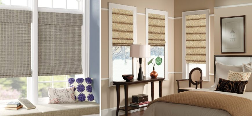 Room Darkening Roman Shades