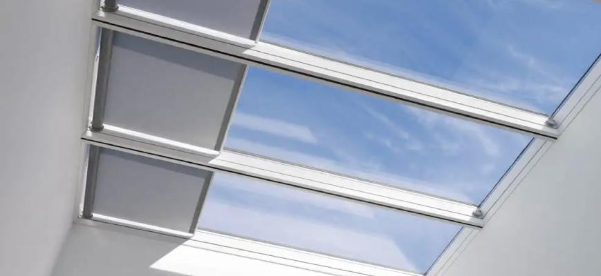 Green Energy Powered Skylight Covers