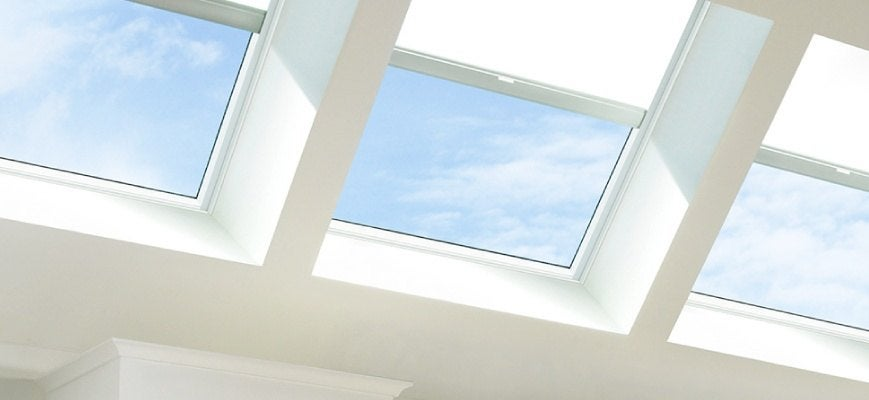 Solar Powered Skylight Window Shades