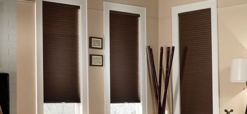 Cordless Top Down Bottom Up Mirage Blackout Cellular Shades from Crown