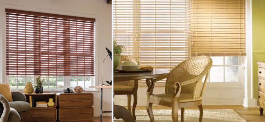 Graber Lake Forest Faux Wood Blinds