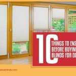 10 Things to Ensure Before Buying Blinds for Doors