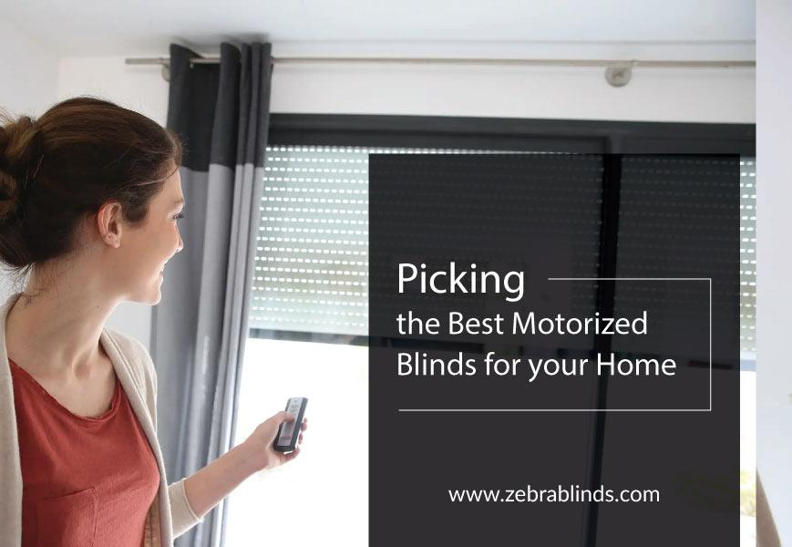 Top Motorized Blinds