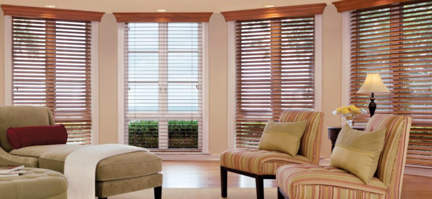 Wooden Valance with Shutters