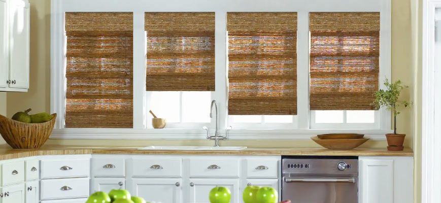 Natural Shades for Kitchen