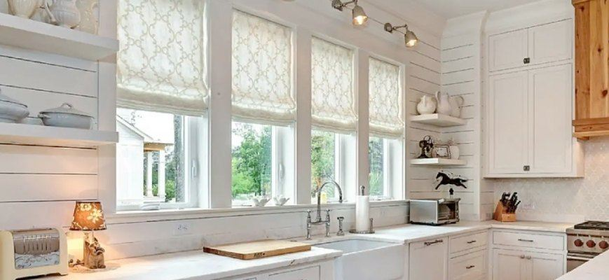 Best Kitchen Sink Window Treatment