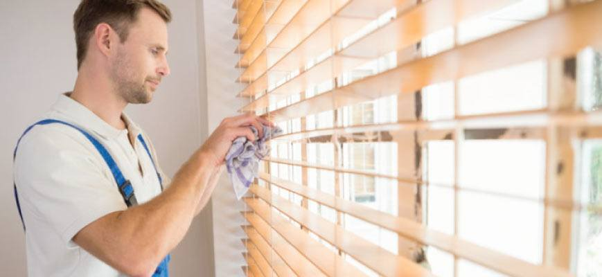 Easy Cleaning Bathroom Blinds