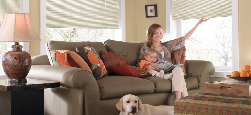 Cordless Blinds for Kids and Pets