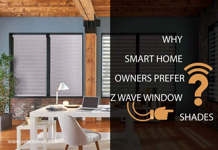 Z wave Smart Window Shades