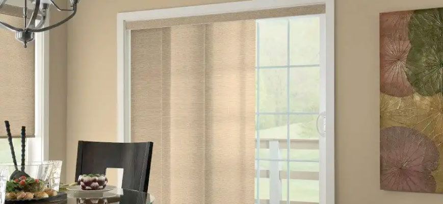 Sliding Panel Track Blinds and Shades