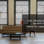 Cost- effective Discount Window Coverings Online for Large Rooms