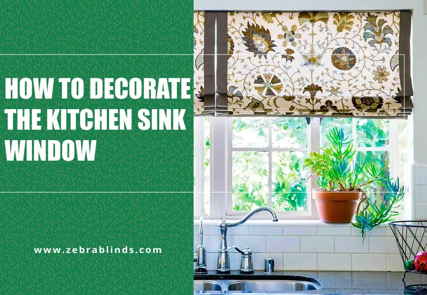 Kitchen Sink Window Treatment