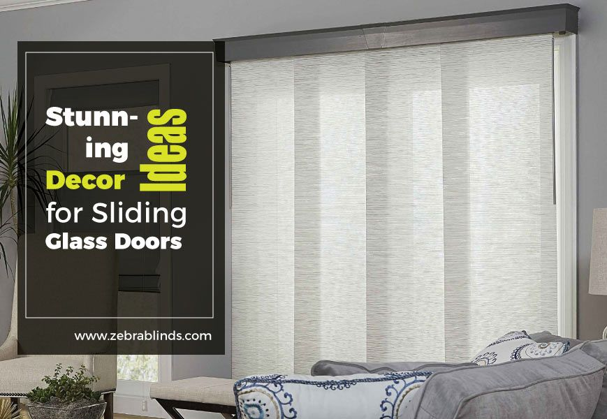 Sliding Glass Door Decorating Ideas Stunning Decors
