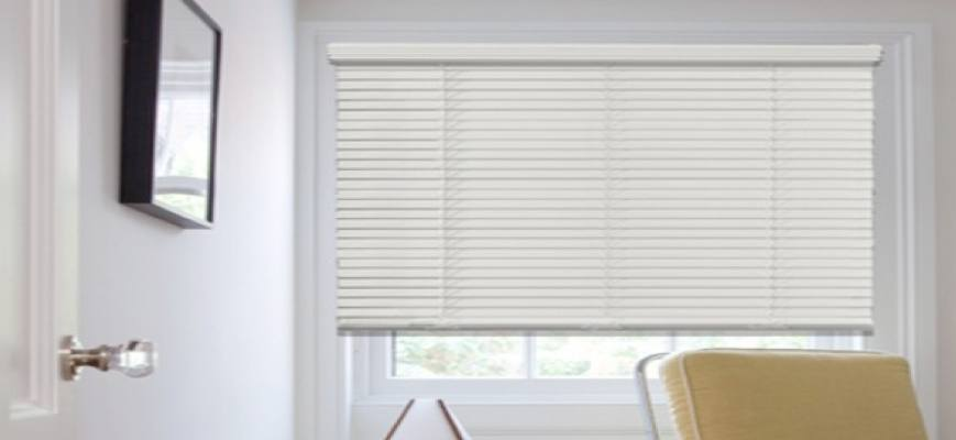 Crown Cordless Faux Wood Blinds