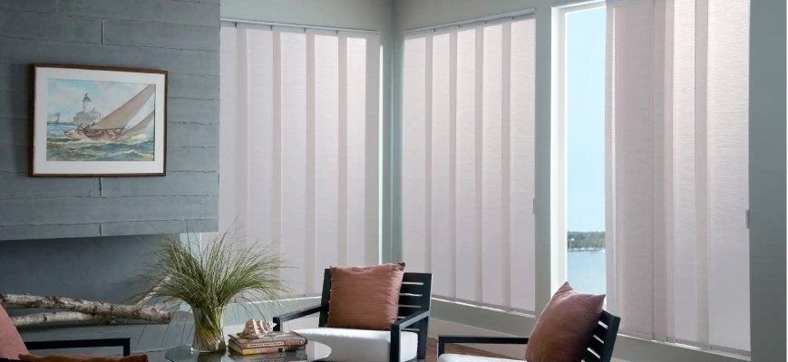 Panel Track Blinds and Shades