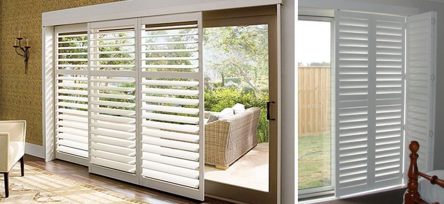 Patio Door Plantation Shutters Things You Need To Know Zebrablinds