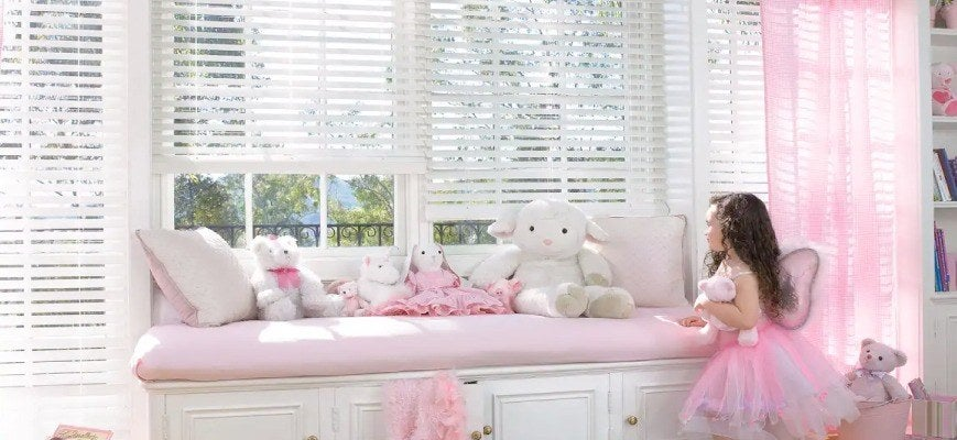 Child Safe Blinds - Cordless Window Treatments
