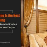 Layering Is the Next Big Thing – Fresco Roman Shades with Window Drapes