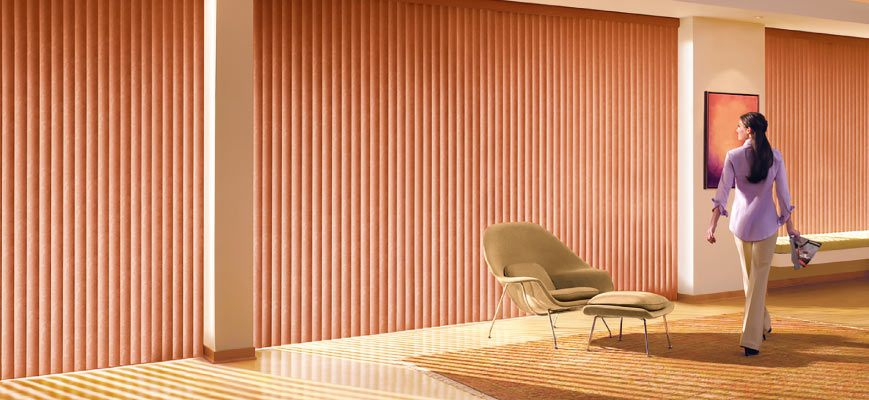 Vertical Blinds for Wide Windows