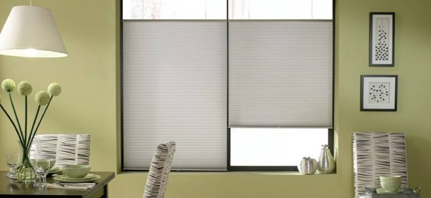 Crown Pleated Shades