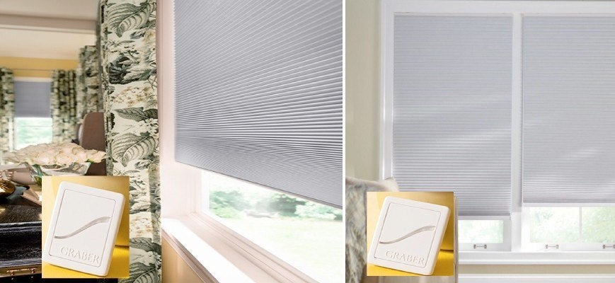 Z wave Graber Cellular Shades