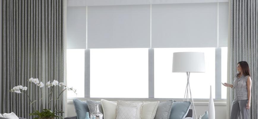 Remote Motorized Shades
