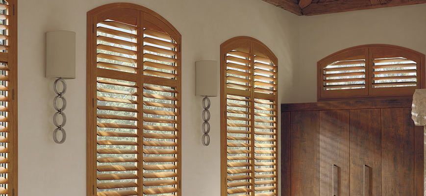 Arched Window Shutters