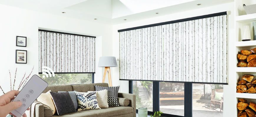 Motorized Roller Blinds and Shades