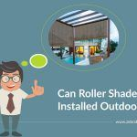 Can Roller Shades Be Installed Outdoors?