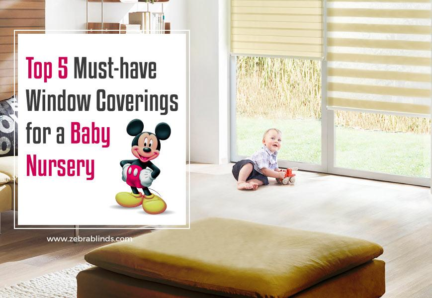 Nursery Window Treatments Top 5 Must Have Coverings