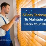 5 Easy Techniques To Maintain and Clean Your Blinds