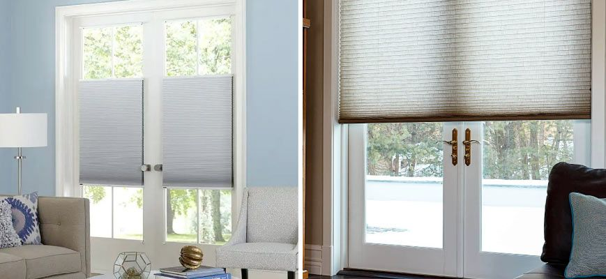Blinds and Shades for French Doors