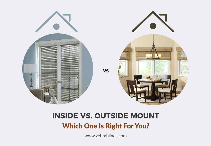 Inside Vs Outside Mount