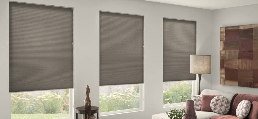 Cellular Shades for Living Room