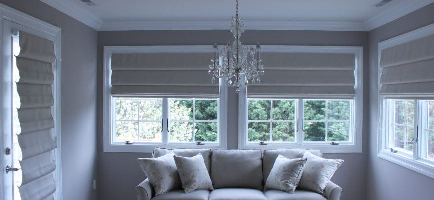 Crown Roman Shades