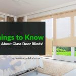 5 Things to Know About Glass Door Blinds!